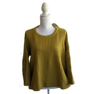 Simply Couture Sweater Large Knit Green Co…